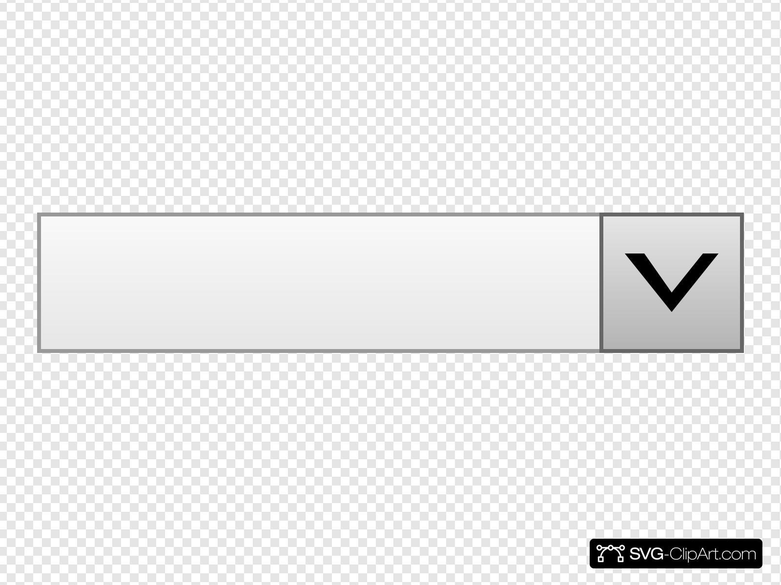 Drop Down Box Clip art, Icon and SVG.