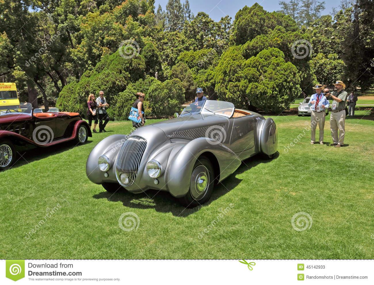 Bentley Drop Head Coupe Editorial Stock Photo.