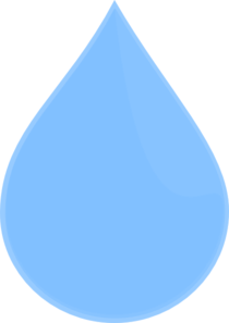 Water drop clipart transparent.