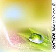 Dew drop Clipart and Stock Illustrations. 3,898 dew drop vector.