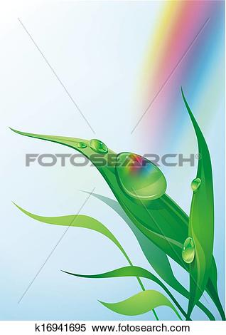 Stock Illustration of Morning Dew illustration k16941695.