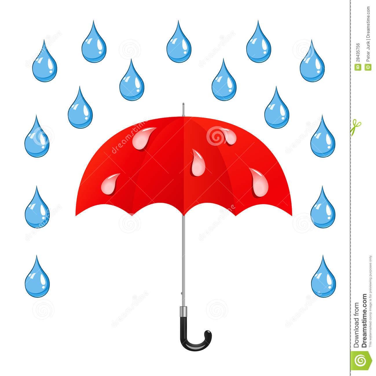Rain Animated Clipart.