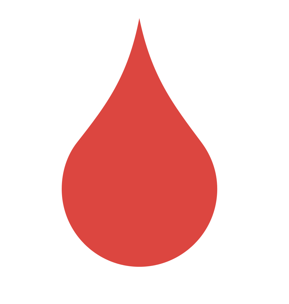 Blood drops clipart.