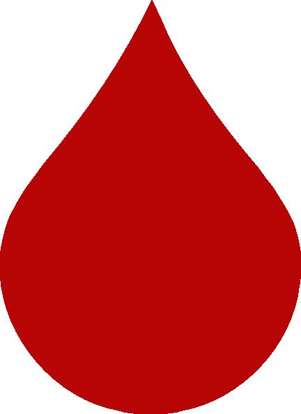 Blood drops clipart.