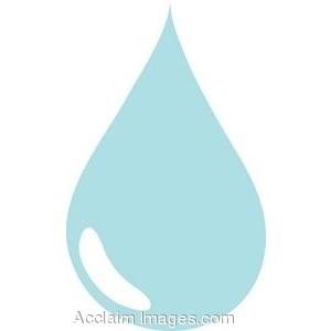 Water drops clip art.