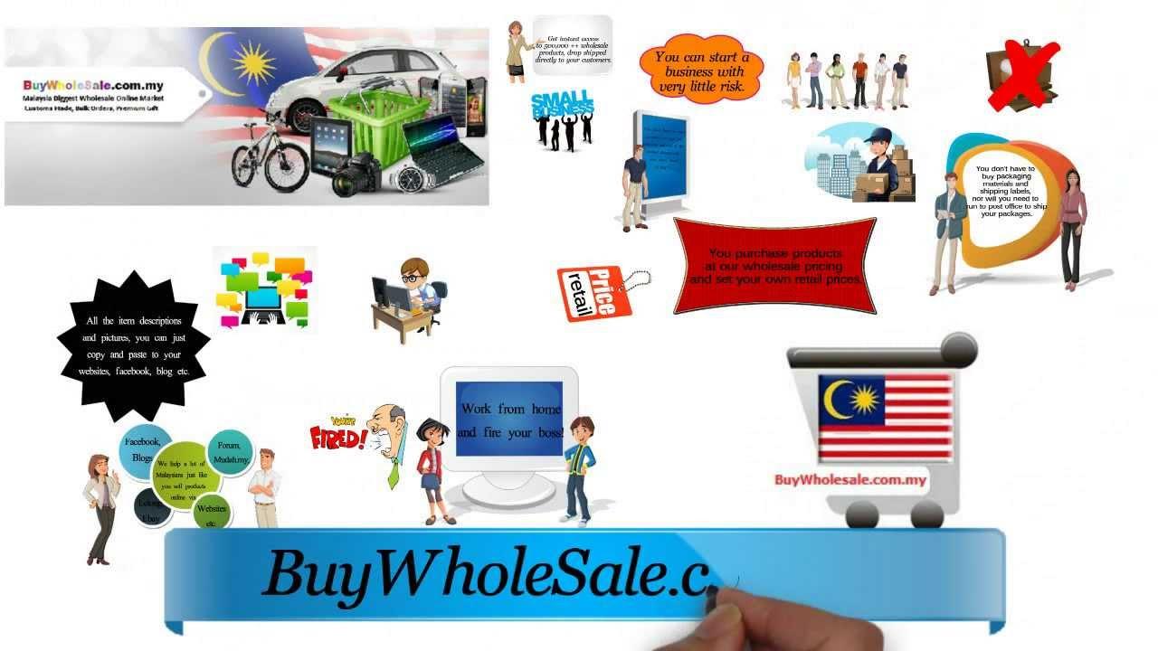 Dropship Service Malaysia BuyWholesale.com.my.