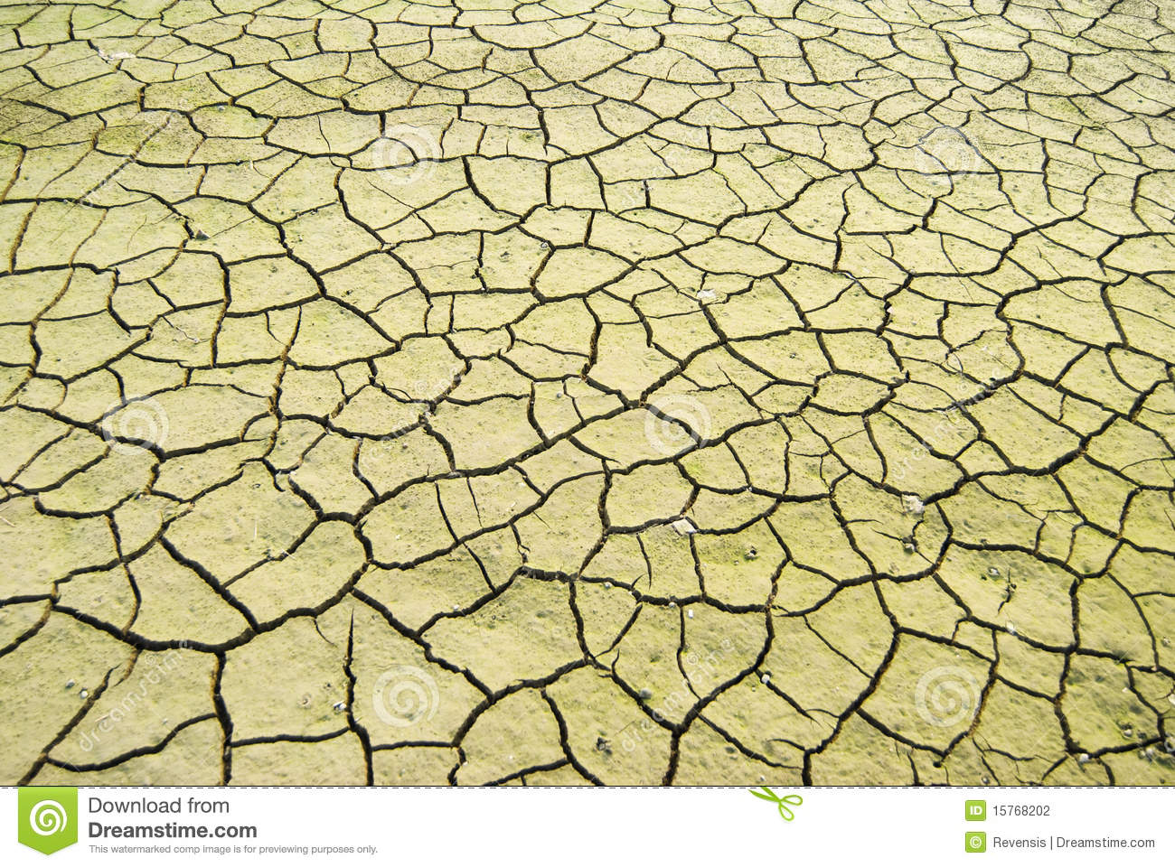 Drought Land Was Cracked. Stock Photography.