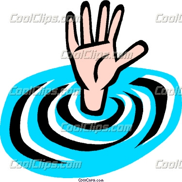 Drowning 20clipart.