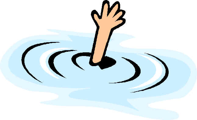 Person Treading In Water Clipart Clipground