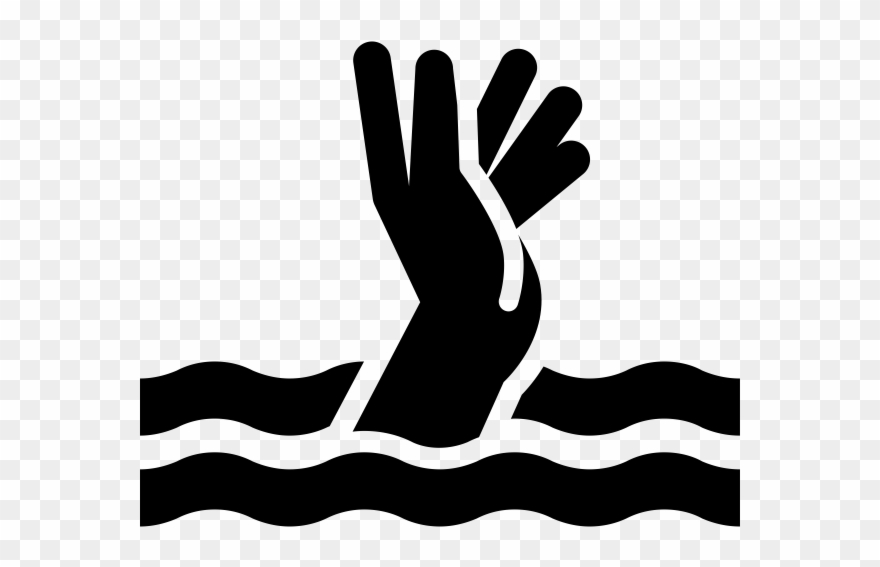 Drown Icon Clipart (#2209187).
