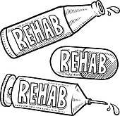 Drug Abuse Clip Art.