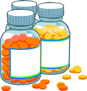 Prescription drug clip art.