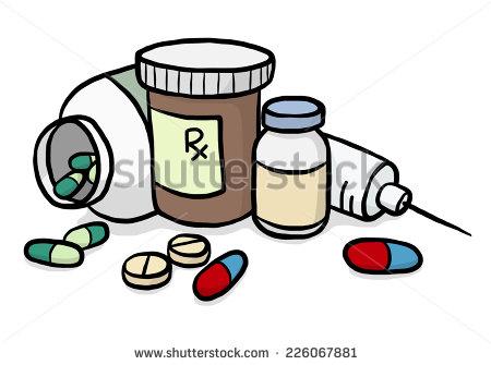 Prescription Drug Clipart.