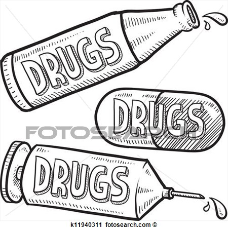 Clipart illegal drugs.