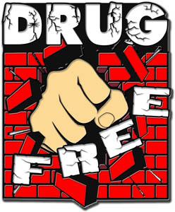 Drug Free Clip Art.