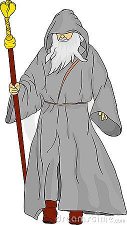 Druid Stock Illustrations.