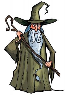 Druid clipart.