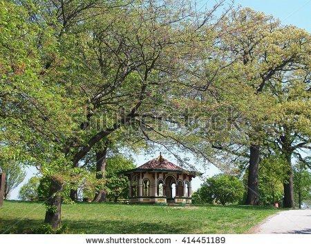 Druid Hill Park Stock Photos, Royalty.