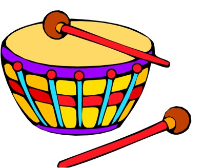 Drum Circle Clipart.