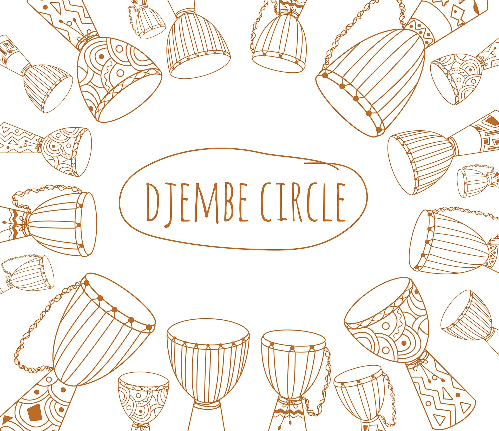 Drums clipart drum circle, Drums drum circle Transparent.