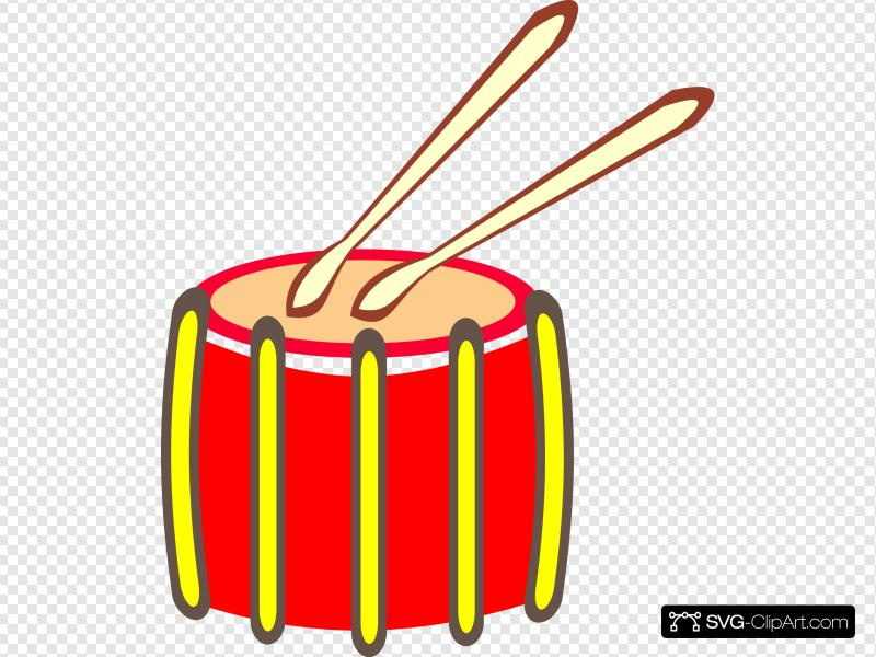 Snare Drum Clip art, Icon and SVG.