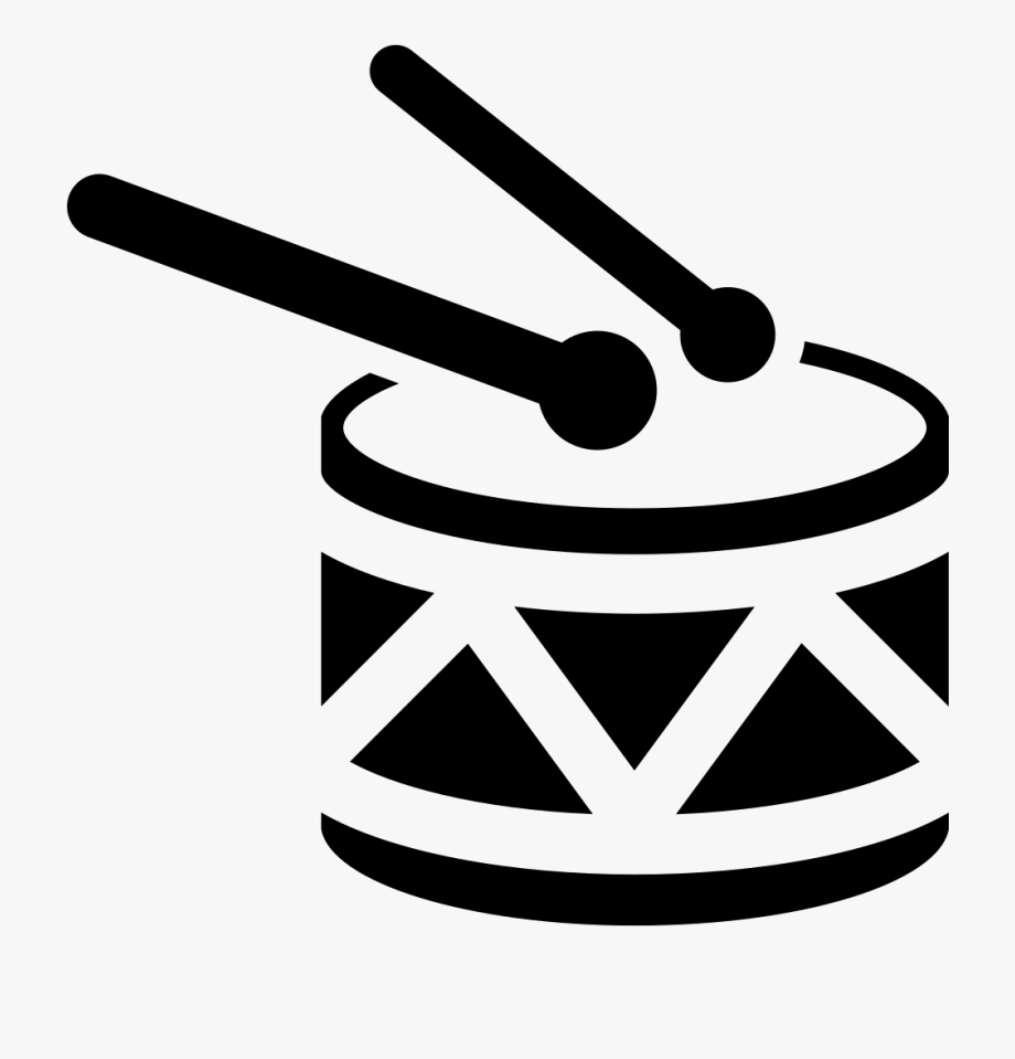 Drum With Drumsticks Svg Png Icon Free Download.
