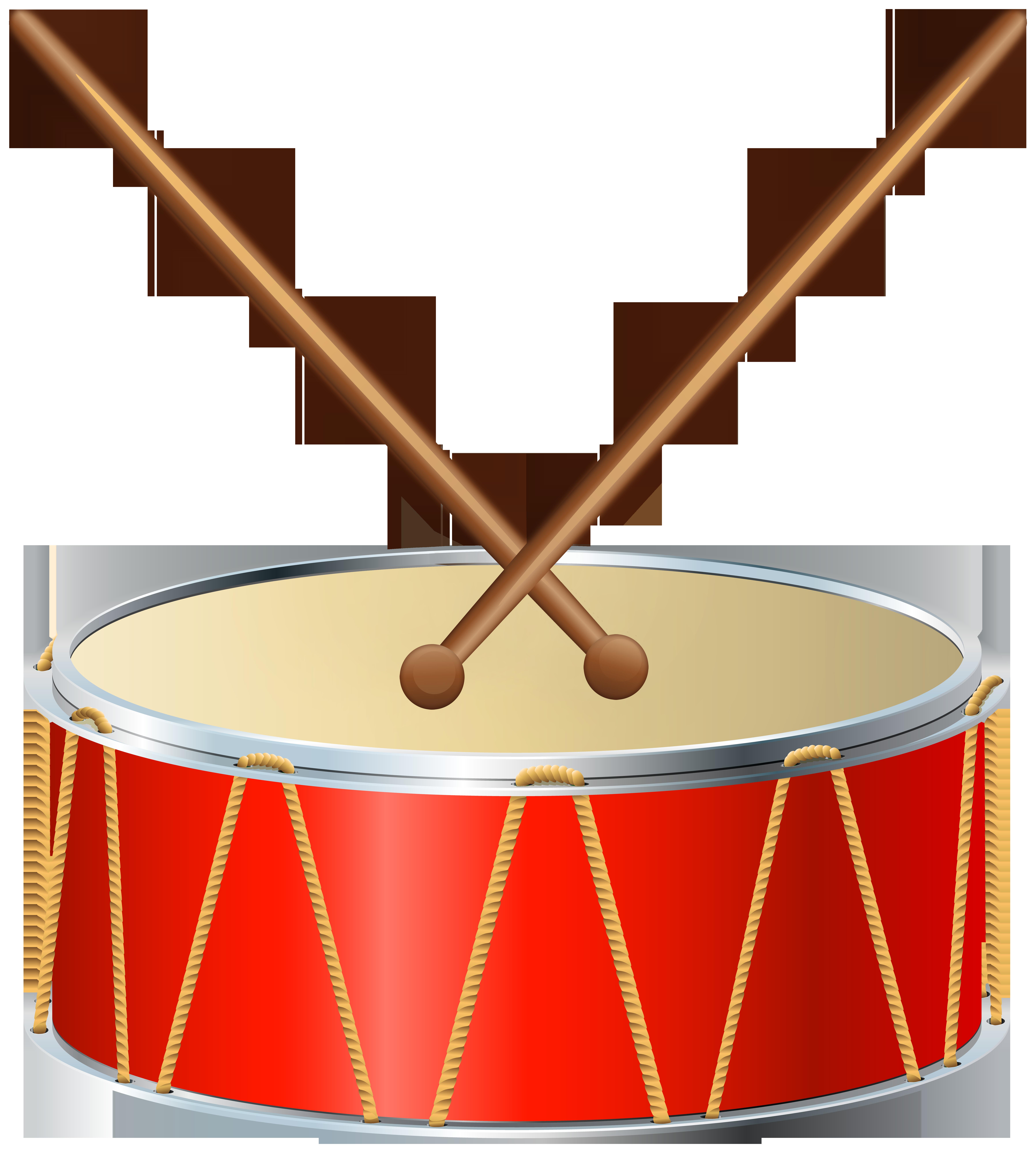 Drum PNG Clip Art.