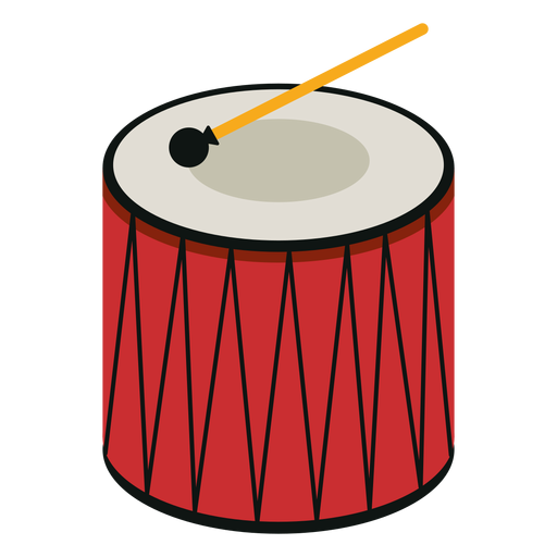 Davul drum musical instrument icon.