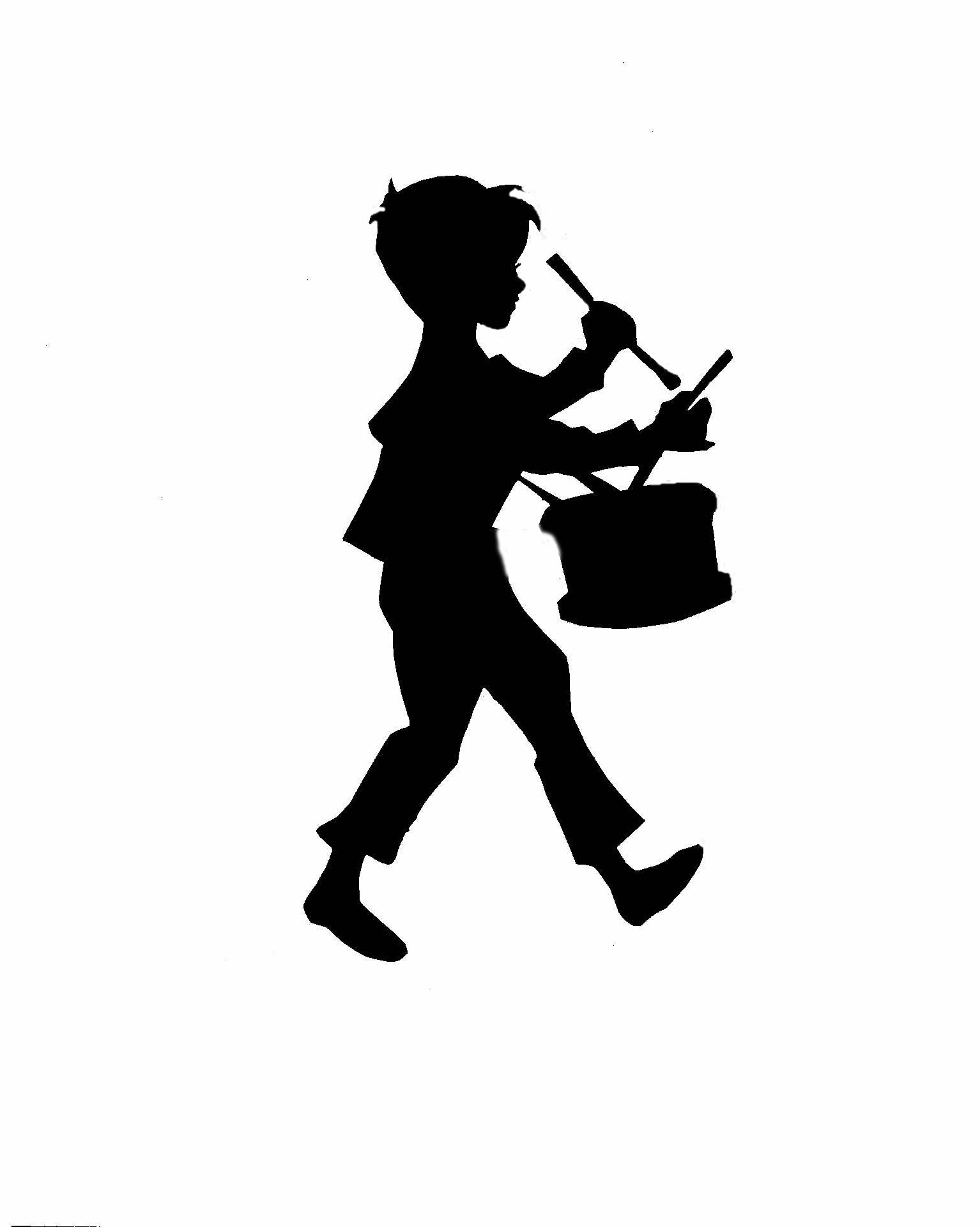 The Little Drummer Boy Head Clipart.