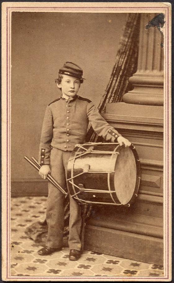 Drummer Boys in the Civil War.