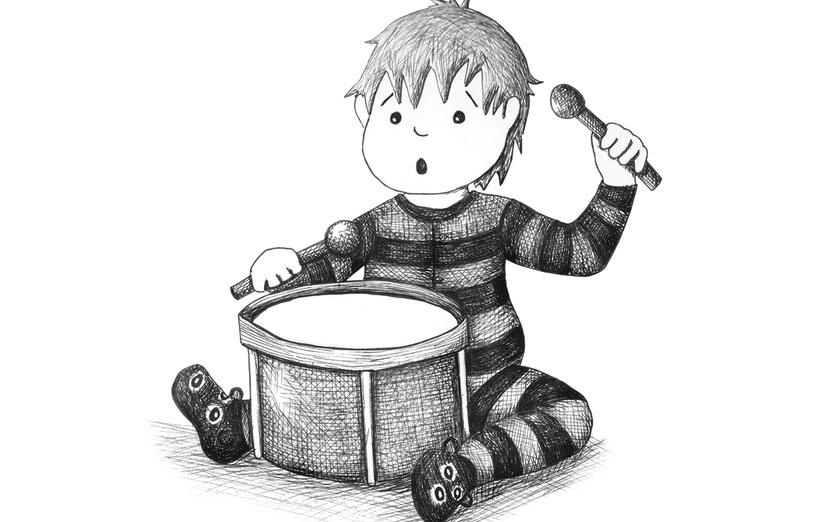 drummer boy by Cara Burns Design on Storybird.