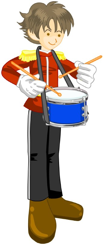 Drummer Clipart.