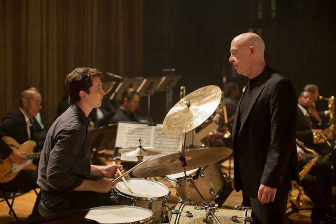 In 'Whiplash,' a Young Jazz Drummer vs. His Teacher.