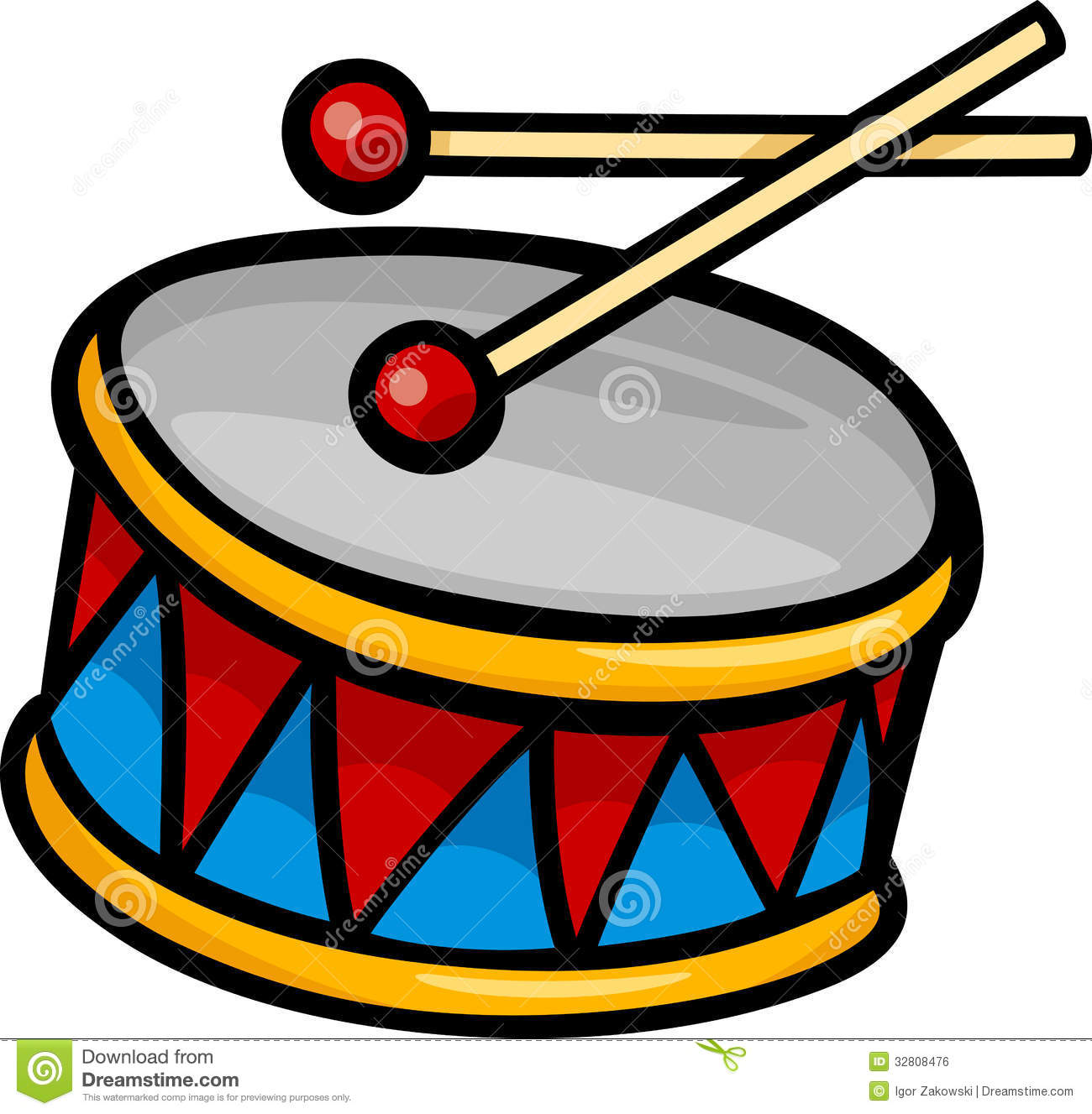 Snare Drum Clipart.