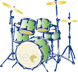 Drums Clip Art Free.