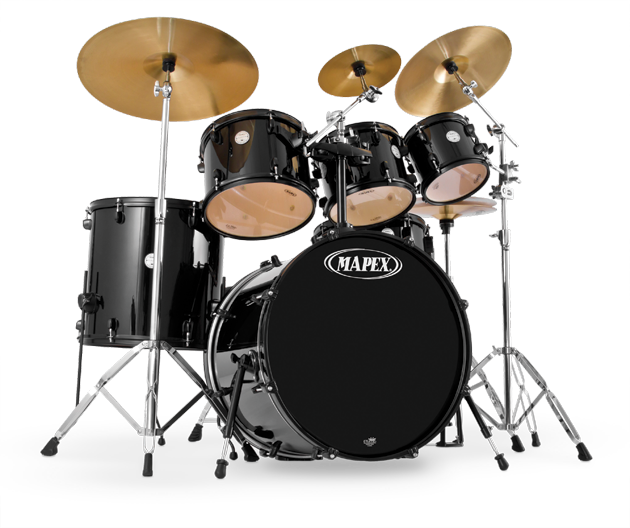 Drums Kit PNG Image.