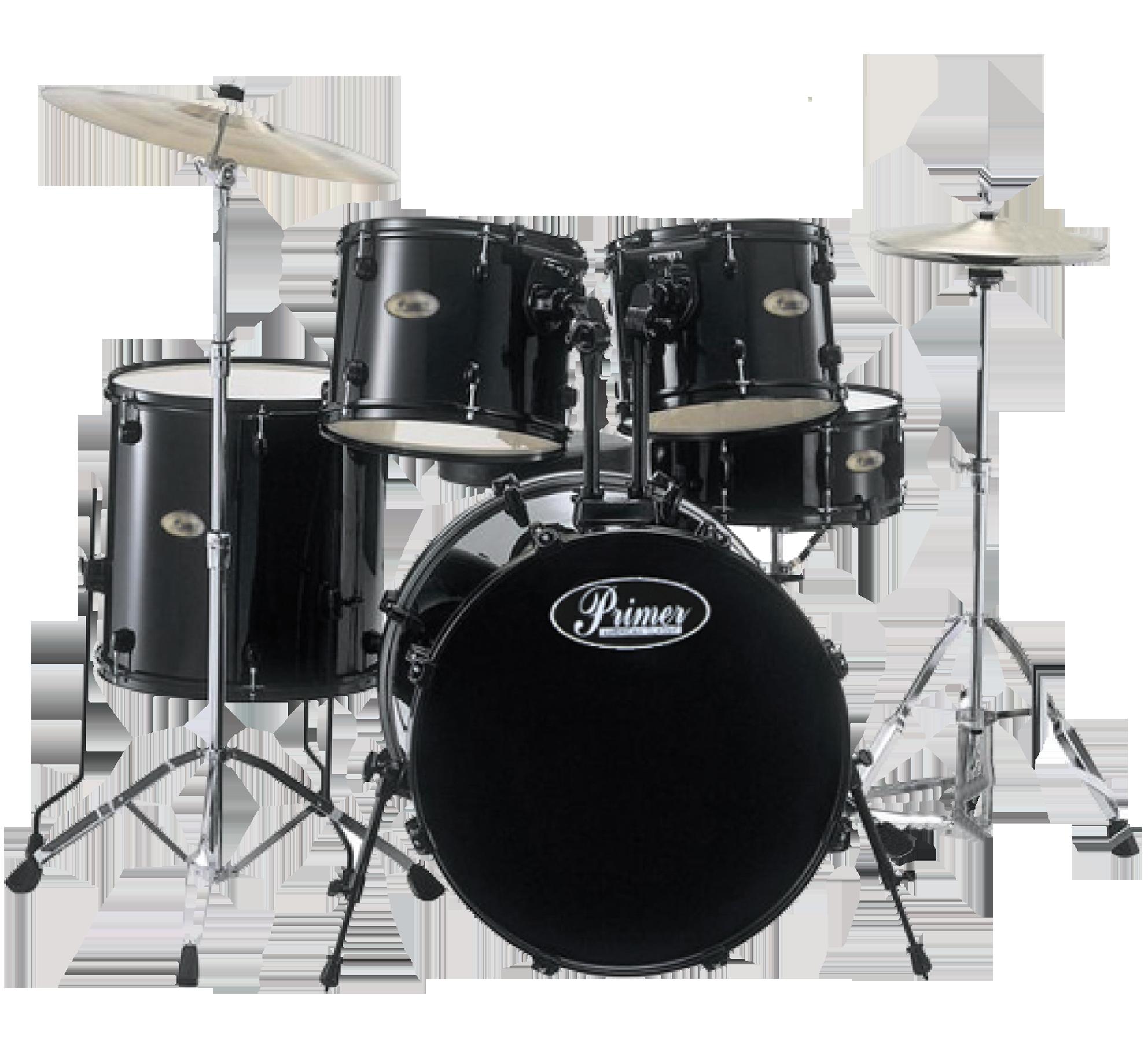Primer Drums Kit PNG Image.