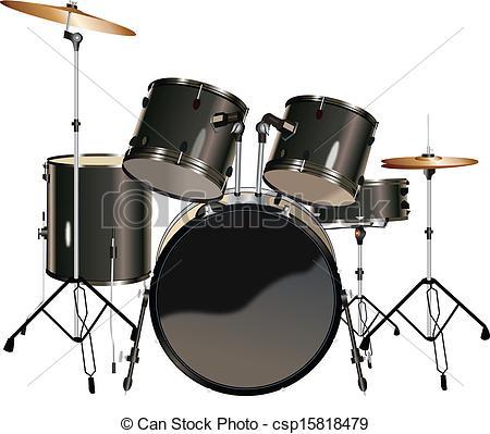 25+ Drum Set Clipart.