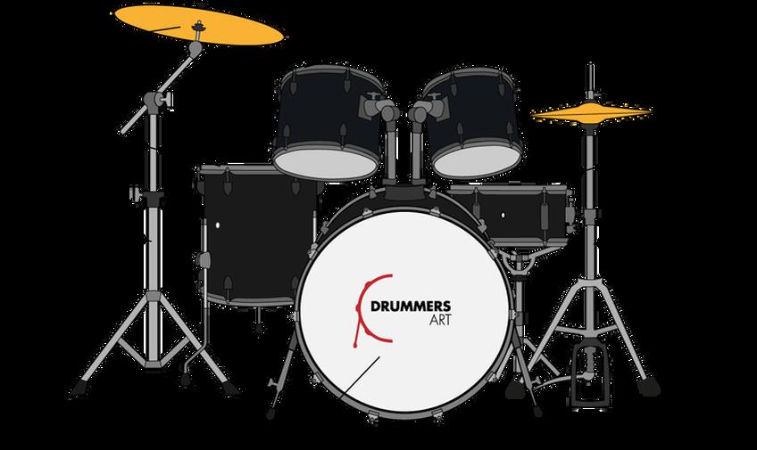 Drum Set Drawing at PaintingValley.com.