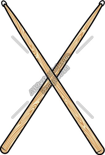 Drumstick Clipart.