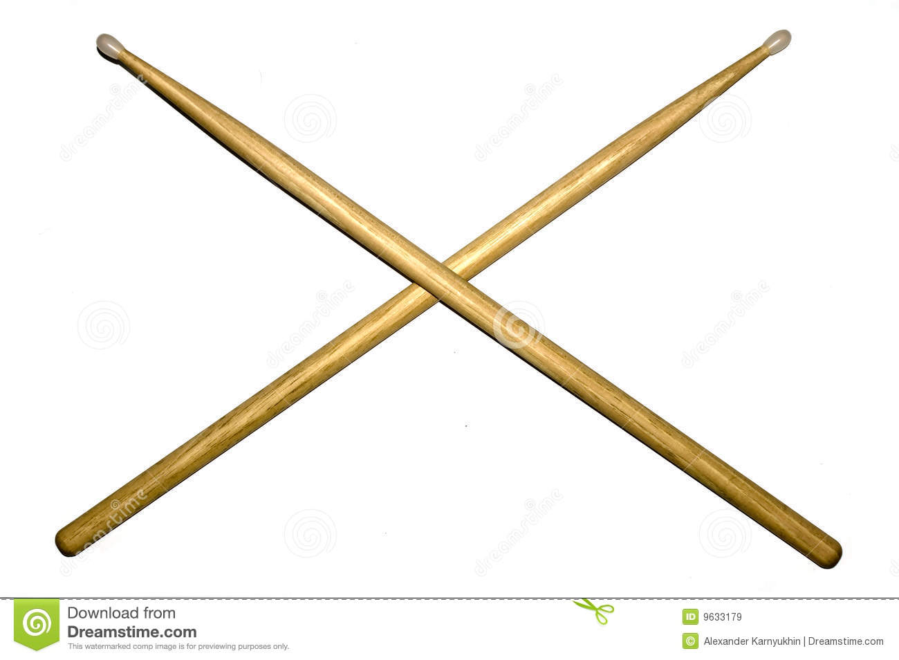Gallery For > Crossed Drumsticks Clipart.