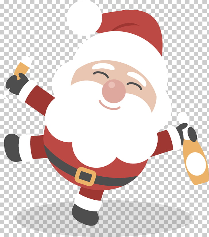 Santa Claus graphics Christmas Day , Santa Drunk PNG clipart.