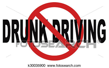 Stop drunk driving Clipart.