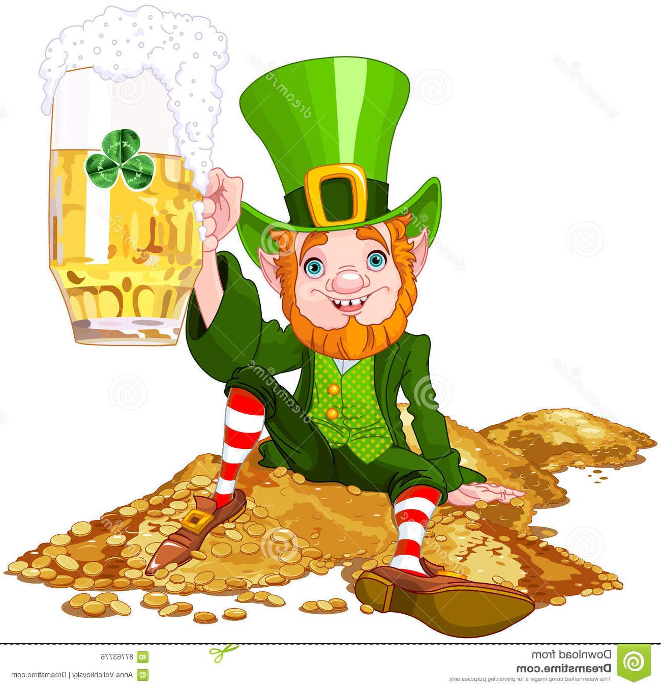 Best Drunk Leprechaun Vector Images » Free Vector Art, Images.