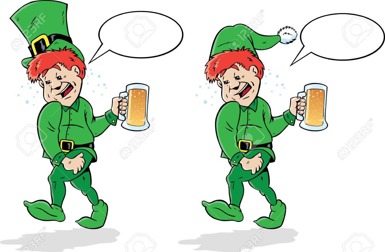 Drunk Leprechaun or Elf..
