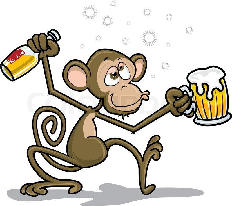 Drunk Monkey.