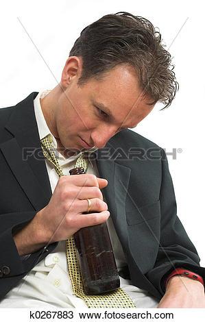 Stock Photo of Drunken stupor k0267883.