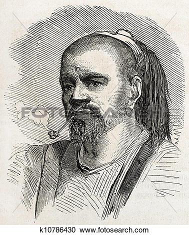 Stock Illustrations of Druze man k10786430.