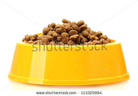 Cat Food Stock Images, Royalty.