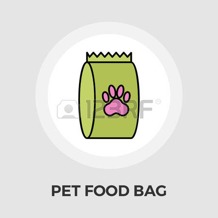 Dry Cat Food Bags Clipart.